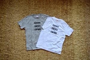 Tシャツ 手描きミンサー
